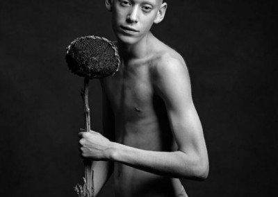 Ivan-m119_Boy with sunflower_1997