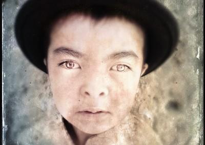 林添福手机摄影(藏族肖像)系列