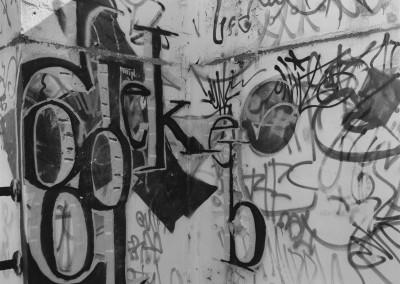 34. Graffiti, Hinchliffe Stadium, Paterson, NJ, 2005