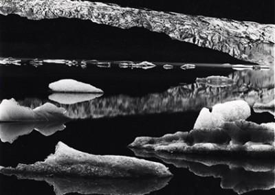 Brett Weston, Mendenhall Glacier Alaska  1973