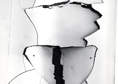 Brett Weston, Wallboard  1976