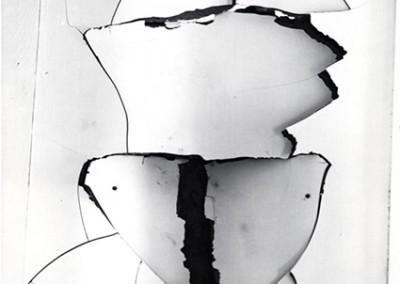 Brett Weston, Wallboard  1976