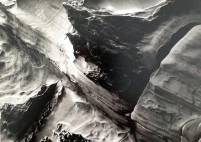 No.40-see+ gallery-Rock Formation-Brett Weston-1977